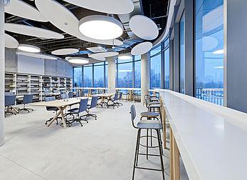 Library area desk